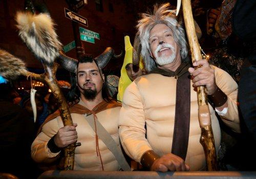 Crazed zombies, warlocks, ghouls haunt Village parade