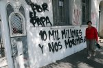 Three churches firebombed in Chile before pope