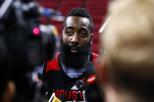 James Harden's 38 points help Houston Rockets beat New Orleans Pelicans