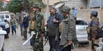 Iraq's Kurdish Peshmerga arrive in Kobane, Syria to help fight Islamic State