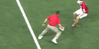 Watch Ohio State's strength coach body slam an unruly fan