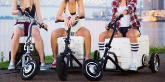 Kickstarter's latest cooler is rideable and built for speed [Video]