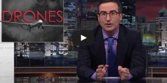 Watch John Oliver slam Obama administration for hawkish drone policy