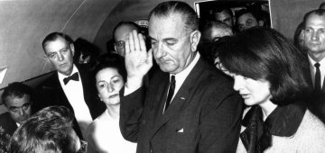 The Kennedy Assassination: LBJ Sworn in [AUDIO]