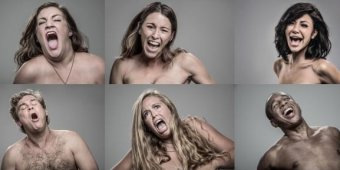 Naked couples tase each other in slow motion for art [VIDEO]