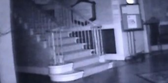 'Ghost' caught on camera at medical center [VIDEO]