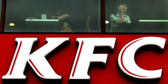Lovelorn Chinese woman lived at KFC for a week