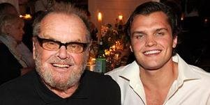 Jack Nicholson steps out with lookalike son Ray in rare outing
