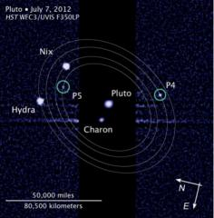 'Vulcan' wins Pluto moon name vote