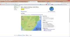 5.3 magnitude earthquake rattles South Africa, killing 1