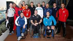 Wounded Afghan soldiers take part in Invictus Games in Britain