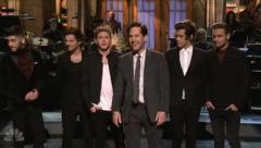 'SNL': 'Anchorman 2' cast, One Direction sing 'Afternoon Delight' [VIDEO]
