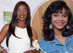 Lark Voorhies' heavy makeup attracts attention