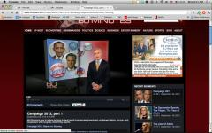 Romney, Obama air views on '60 Minutes'