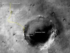 Mars rover captures off-Earth travel distance record