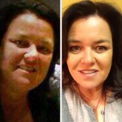 Rosie O'Donnell shows nearly 50-pound weight loss in Twitter photo