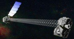 X-ray telescope mast successfully deployed