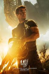 Mark Wahlberg stars in new 'Transformers: Age of Extinction' poster