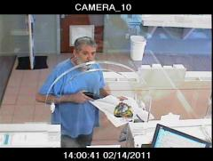 Police: Robber pulled rifle from bouquet