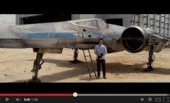 'Star Wars: Episode VII': J.J. Abrams previews X-Wing Starfighter