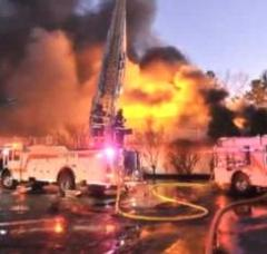 3-alarm fire at Massachusetts wedding blamed on cigarette