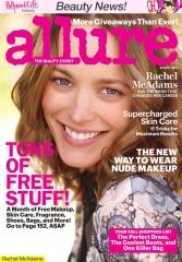 Rachel McAdams goes without makeup on Allure magazine cover