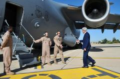 Secretary Kerry arrives in Iraq on diplomatic outreach mission