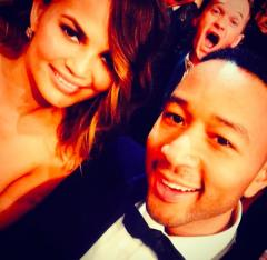 Chrissy Teigen gets photobombed by Neil Patrick Harris
