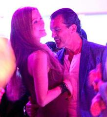 Antonio Banderas spotted partying with blondes after Melanie Griffith split