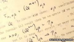 Britain releases historic code papers