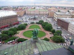 St. Petersburg's historical status changed