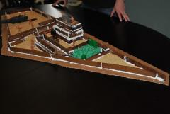 Man creates replica of bin Laden's compound from gingerbread