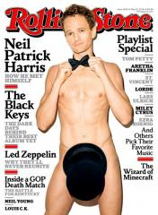 Neil Patrick Harris gets naked for Rolling Stone cover