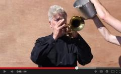 Watch David Lynch play trumpet for ALS Ice Bucket Challenge