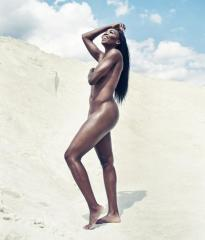 Venus Williams and Tomas Berdych pose naked for ESPN's Body Issue