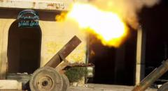 Video: Free Syrian Army unleashes 'Hell Cannon' in fight against Assad