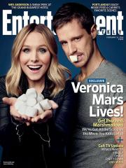 Kristen Bell, Jason Dohring cover Entertainment Weekly