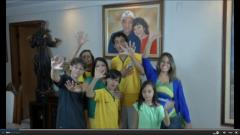 6-fingered family rooting for Brazil to win sixth World Cup