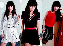 Zooey Deschanel designs capsule collection for Tommy Hilfiger