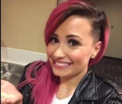 Demi Lovato shaved part of her head [PHOTO]