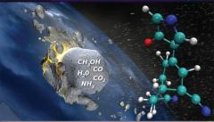 Life-building compounds on early Earth may have had cosmic origins