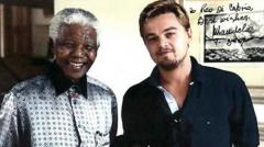 Leonardo DiCaprio looking to retrieve old photo signed by Mandela