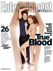 Anna Paquin covers Entertainment Weekly nude, discusses 'True Blood' sex scenes