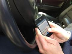 Woman impaled through buttocks while texting and driving