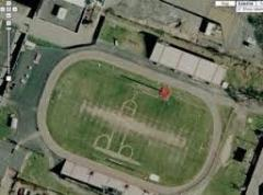 Penis-shaped football field graffiti cancels games