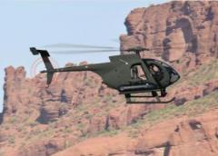 Scout attack helicopter demos firepower
