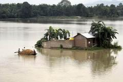 Nepal and India face fatal flooding