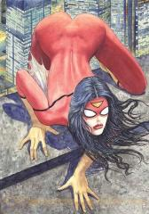Spider-Woman #1 causes controversy with booty-centric cover art