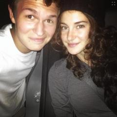 Ansel Elgort shares photo of Shailene Woodley's disguise for 'The Fault In Our Stars' showing