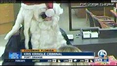 Real-life 'Bad Santa' robbed Florida bank on Monday